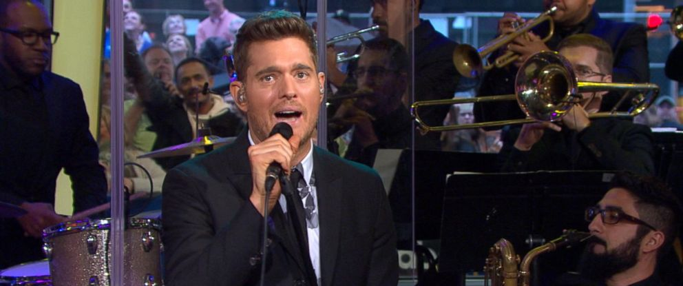 "PHOTO: Michael Buble discusses his new album, ""Nobody But Me,"" on ""Good Morning America."""