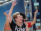 PHOTO: Miley Cyrus performs for Good Morning America in New York City, June 26, 2013.