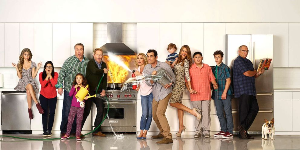 PHOTO: ABCs Modern Family Cast