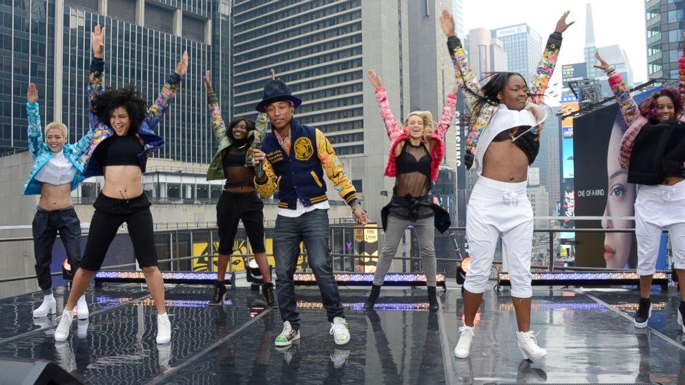 cc544bc601b9b Pharrell Williams   Happy  Anthem Inspires Parodies  Best Videos to  Brighten Your Day - ABC News