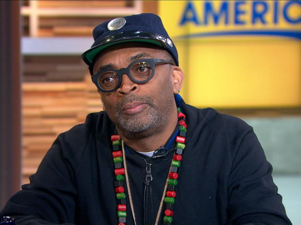 PHOTO:Spike Lee appeared on Good Morning America, Jan. 20, 2016, in New York.