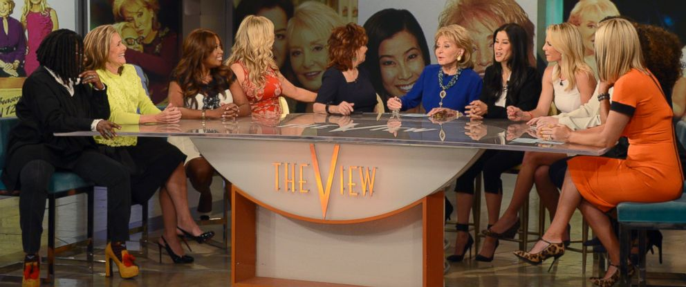 All 11 'View' Co-Hosts Reunite for Barbara Walters' Farewell - ABC News