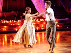 PHOTO: Valerie Harper and Tristan MacManus dance together on Dancing With The Stars, Oct. 7, 2013.
