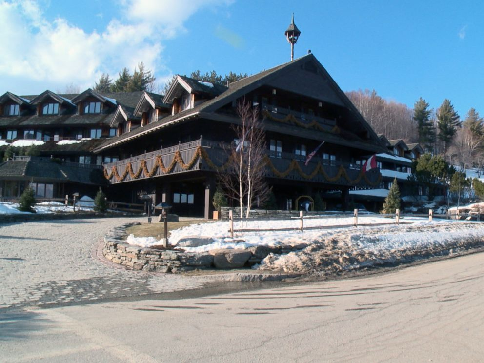PHOTO: A shot of the outside of the Trapp Family Lodge near Stowe, Vermont.