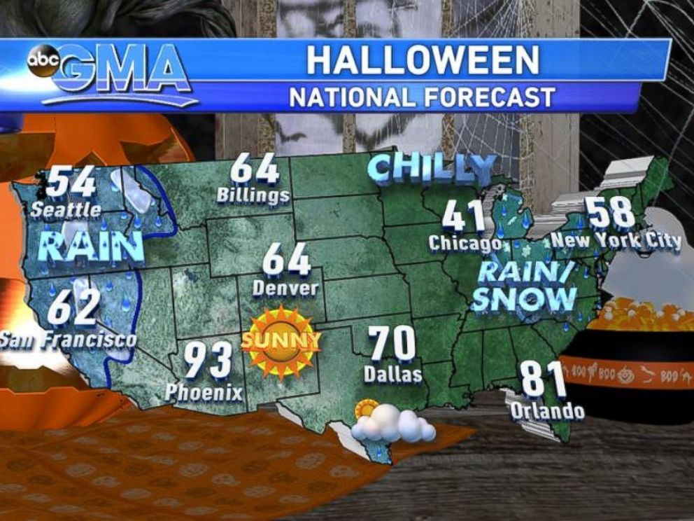 PHOTO: A cold front is bringing some of the coldest weather of the season to the East Coast.