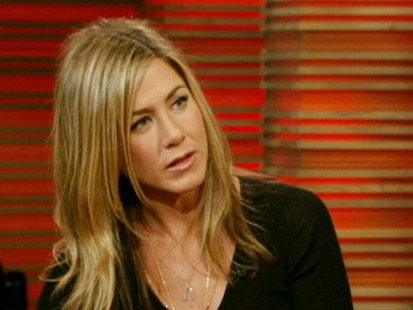 VIDEO: Jennifer Aniston used the R-word during Live with Regis and Kelly interview.