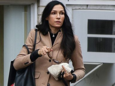Famke Janssen Bundles Up Her Pooch
