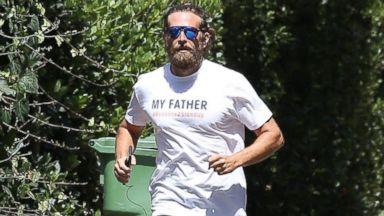 Bradley Cooper Sports A Rugged Beard