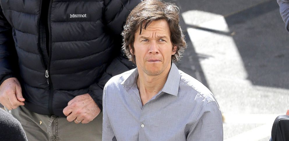 "PHOTO: Mark Wahlberg films scenes for his upcoming movie, ""The Gambler"" in Los Angeles, Feb. 3, 2014."