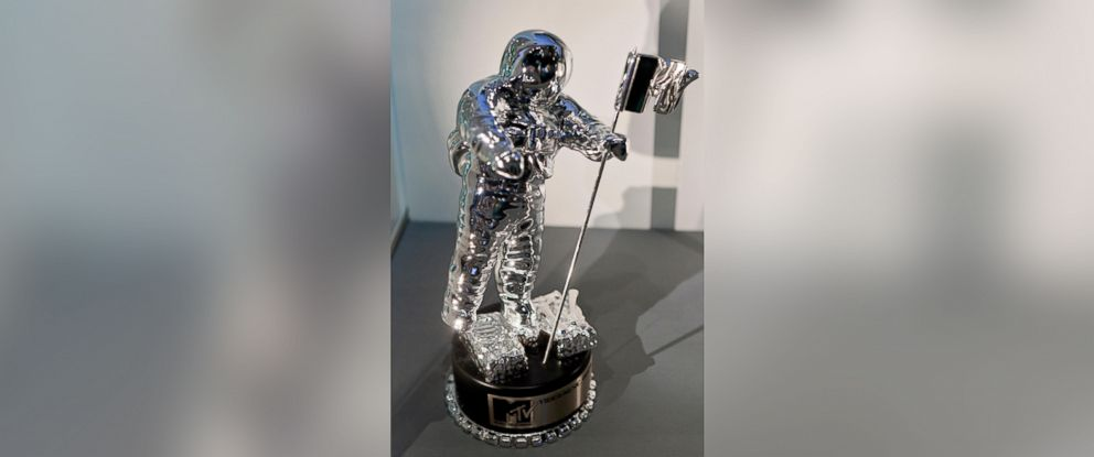 """PHOTO: MTV Video Music Award (VMA) trophy """"Moonman"""" is pictured in this undated stock photo."""