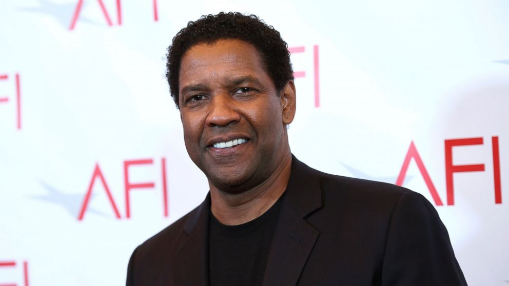 Denzel Washington arrives at the AFI Awards at the Four Seasons Hotel, Jan. 6, 2017, in Los Angeles.