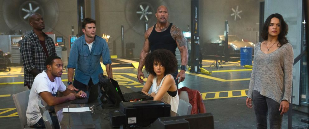 """PHOTO: A scene from """"The Fate of the Furious."""""""