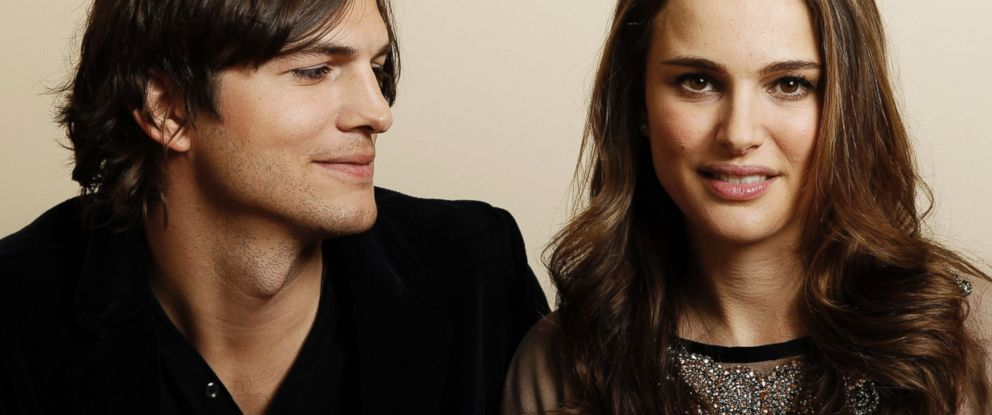 "PHOTO: Actor Ashton Kutcher, left, and actress Natalie Portman, from the film ""No Strings Attached"" pose for a portrait in Beverly Hills, California, Jan. 7, 2011."