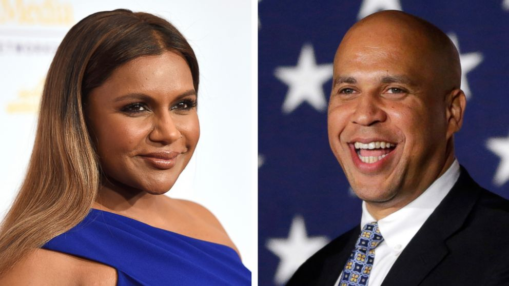 Sen. Cory Booker asks Mindy Kaling out for dinner on
