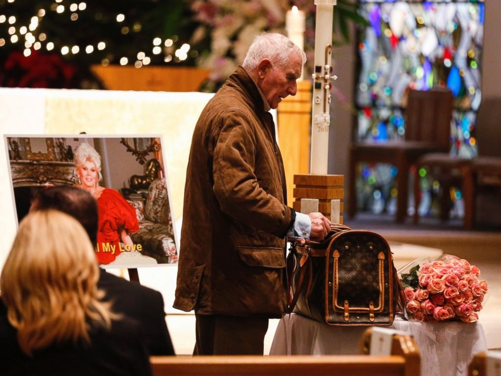 PHOTO: Frederic Prinz von Anhalt attends Zsa Zsa Gabors Celebration of Life memorial service at the Good Shepherd Church, Dec. 30, 2016, in Beverly Hills, California.