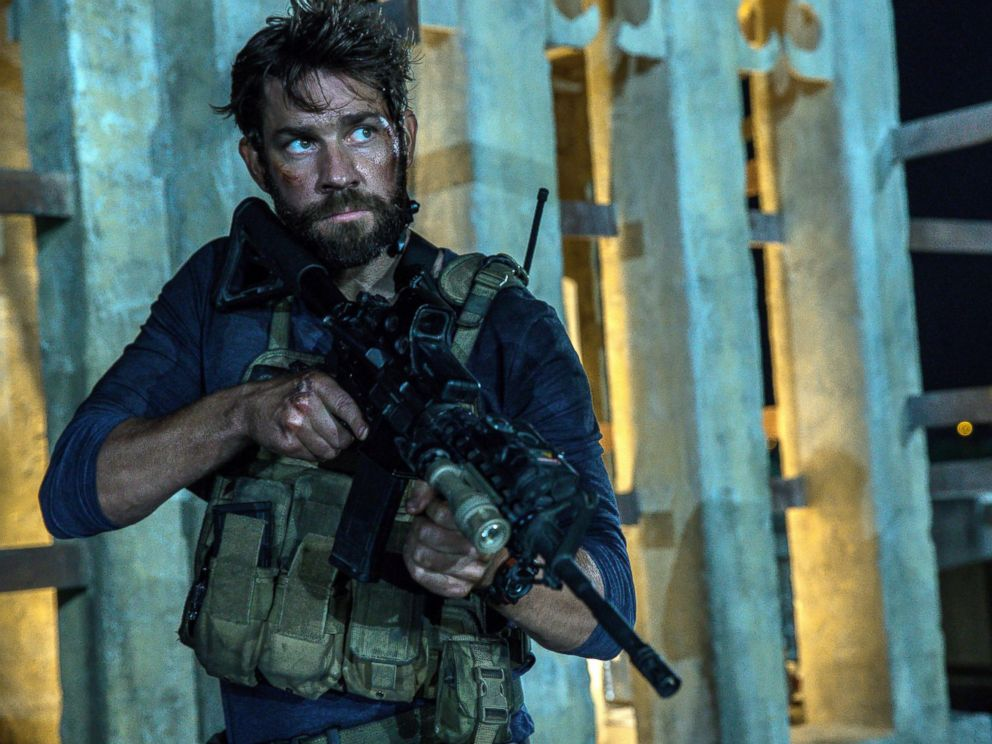 PHOTO: John Krasinski as Jack Silva in the film, 13 Hours: The Secret Soldiers of Benghazi.
