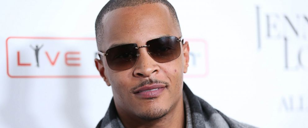 "PHOTO: In this Jan. 20, 2016, file photo, T.I. arrives at the grand opening of ""Jennifer Lopez: All I Have"" show at Planet Hollywood Resort & Casino in Las Vegas."