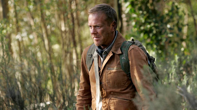 """PHOTO: In this image released by Fox Broadcasting, Kiefer Sutherland is shown in a scene from the film """"24: Redemption,"""" on FOX."""