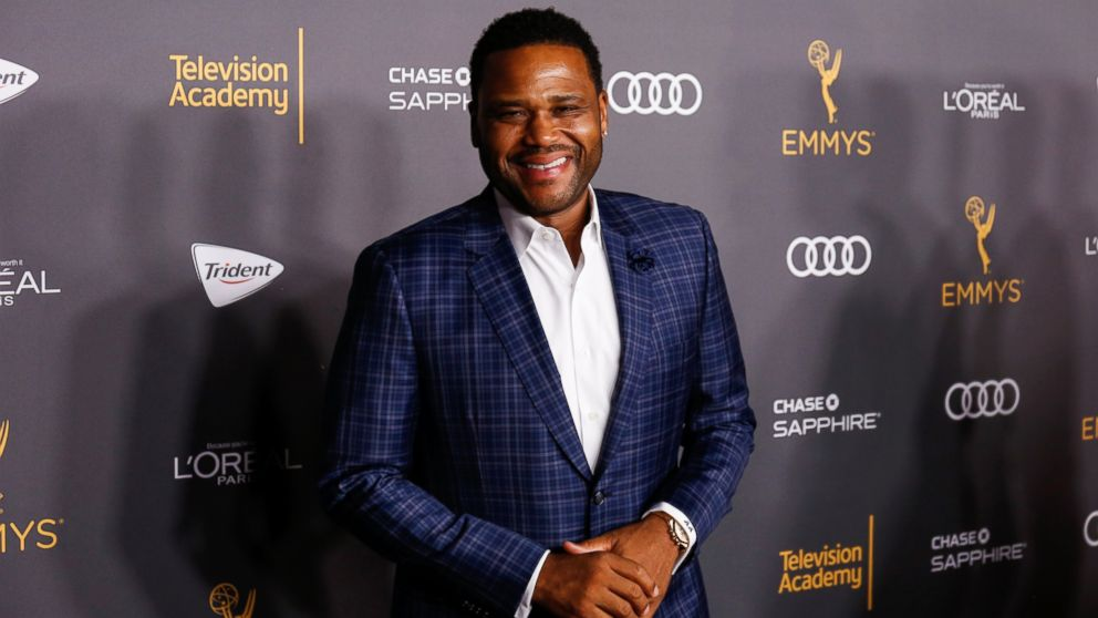 Anthony Anderson arrives at the 2016 Primetime Emmy Awards Performer Nominees Reception at the Pacific Design Center, on Sept. 16, 2016, in West Hollywood, California.