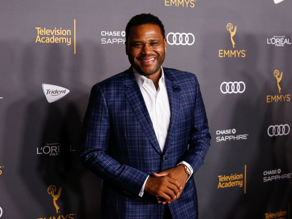 PHOTO: Anthony Anderson arrives at the 2016 Primetime Emmy Awards Performer Nominees Reception at the Pacific Design Center, on Sept. 16, 2016, in West Hollywood, California.