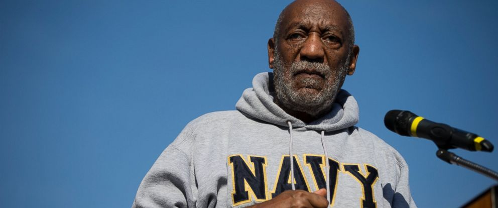 PHOTO: Entertainer and Navy veteran Bill Cosby at a Veterans Day ceremony on Nov. 11, 2014, at the The All Wars Memorial to Colored Soldiers and Sailors in Philadelphia.