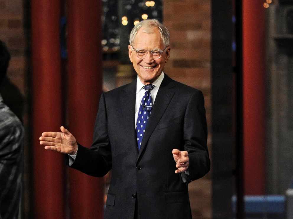 PHOTO: David Letterman appears during a taping of his final Late Show with David Letterman, Wednesday, May 20, 2015 at the Ed Sullivan Theater in New York.