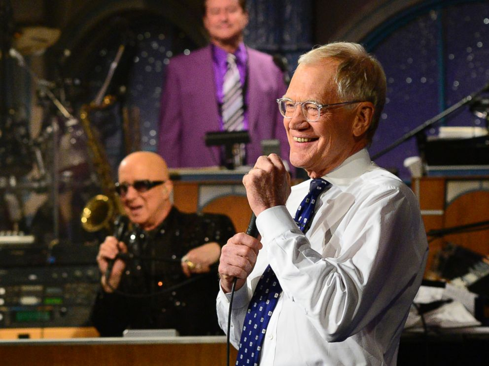 PHOTO: David Letterman appears during a final taping of the ?Late Show with David Letterman,? Wednesday May 20, 2015 in New York.