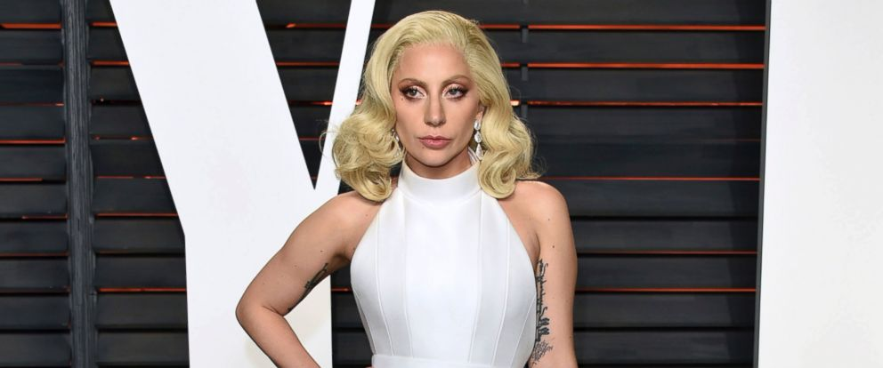 PHOTO: In this Feb. 28, 2016 file photo, Lady Gaga arrives at the Vanity Fair Oscar Party in Beverly Hills, California.