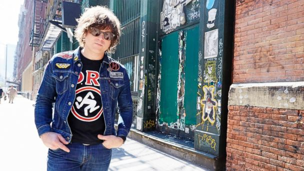 PHOTO: Ryan Adams poses for a portrait in New York City on Sept. 17, 2015.