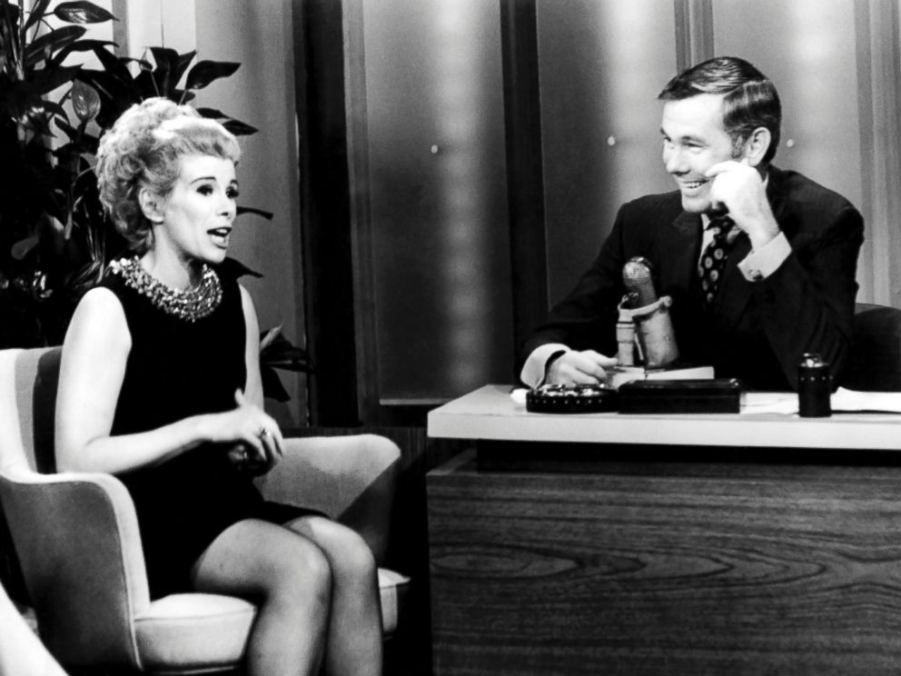 PHOTO: This undated image released by NBC shows comedian Joan Rivers, left, and host Johnny Carson during The Tonight Show Starring Johnny Carson, in Burbank, Calif.