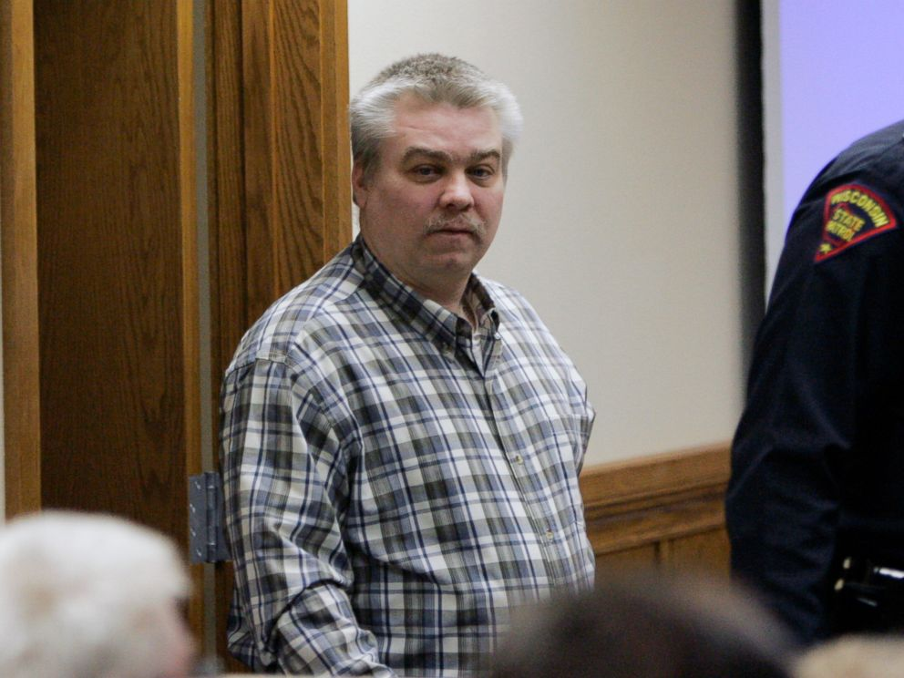 PHOTO:Steven Avery is escorted into a Calumet County courtroom during the opening day in his murder trial, Feb. 12, 2007, in Chilton, Wis.