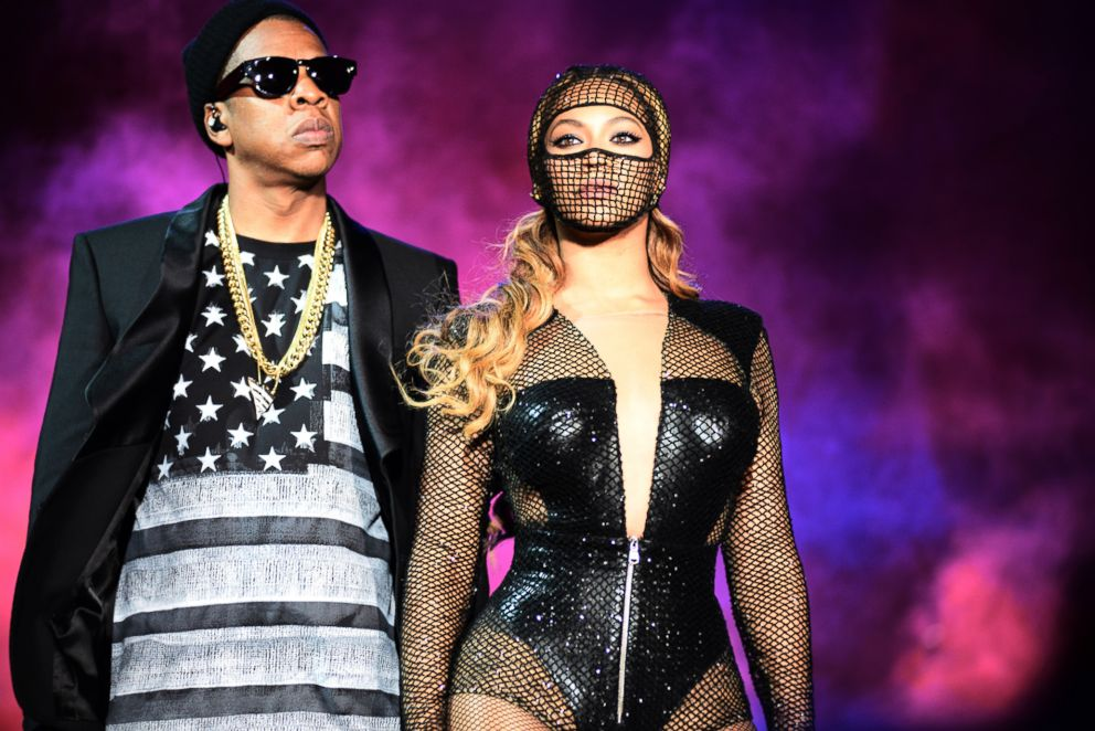 PHOTO: Beyonce and Jay Z perform during the Beyonce and Jay Z - On the Run tour at AT&T Park, Aug. 5, 2014, in San Francisco.