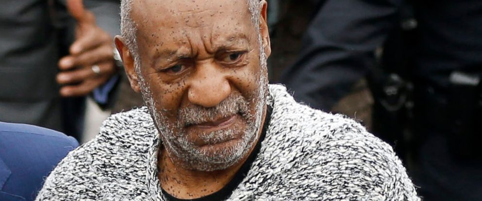 PHOTO: Bill Cosby arrives at court to face a felony charge of aggravated indecent assault, Dec. 30, 2015, in Elkins Park, Pa.
