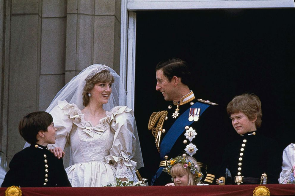 PHOTO: Diana, Princess of Wales, and Prince Charles are shown on their wedding day on the balcony of Buckingham Palace in London, July 29, 1981.