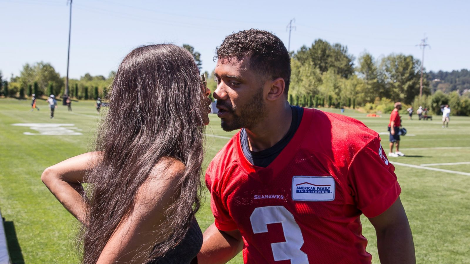 NFL QB Russell Wilson, Ciara Practicing Abstinence