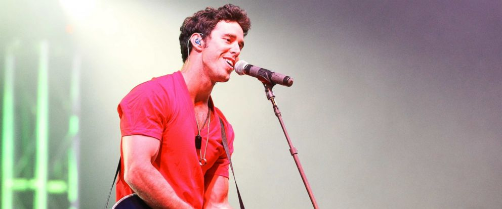 PHOTO: This file photo shows Craig Strickland of Backroad Anthem performing at Thunder on the Mountain at Mulberry Mountain in Ozark, Arkansas, Jun 7, 2013.
