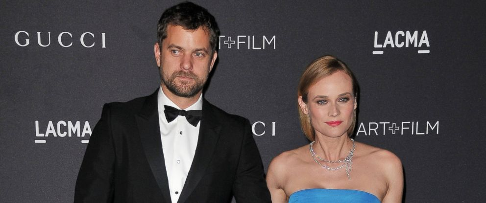 PHOTO: Joshua Jackson and Diane Kruger arrive at the 2015 LACMA Art+Film Gala held at LACMA in Los Angeles, Nov. 7, 2015.
