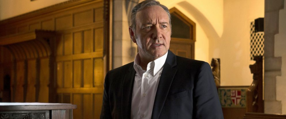 "PHOTO: Kevin Spacey appears in a scene from ""House of Cards."""