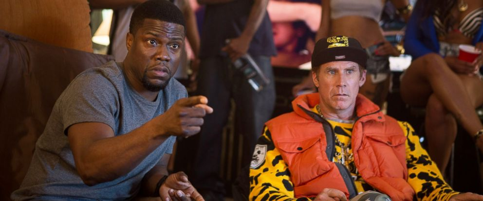 movie review get hard starring will ferrell and kevin hart abc news