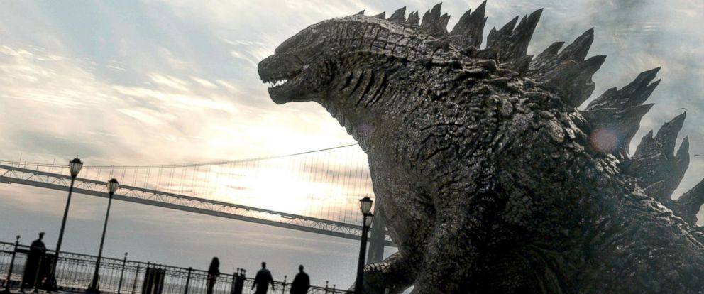 """PHOTO: A scene from """"Godzilla"""" is seen in this film image released by Warner Bros. Pictures."""