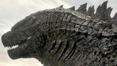 "PHOTO: A scene from ""Godzilla"" is seen in this film image released by Warner Bros. Pictures."