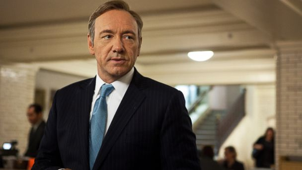 "PHOTO: Kevin Spacey as U.S. Congressman Frank Underwood in a scene from the Netflix original series, ""House of Cards."""