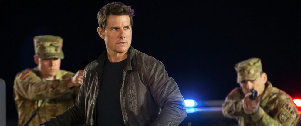 """PHOTO: Tom Cruise appears in a scene from, """"Jack Reacher: Never Go Back."""""""