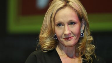 PHOTO: J.K. Rowling poses for the photographers during a photo call to unveil her new book, entitled: The Casual Vacancy, at the Southbank Centre in London, Sept. 27, 2012.