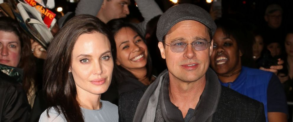 """PHOTO: Angelina Jolie and Brad Pitt attend a special screening of """"By The Sea"""" on Nov. 3, 2015, in New York."""