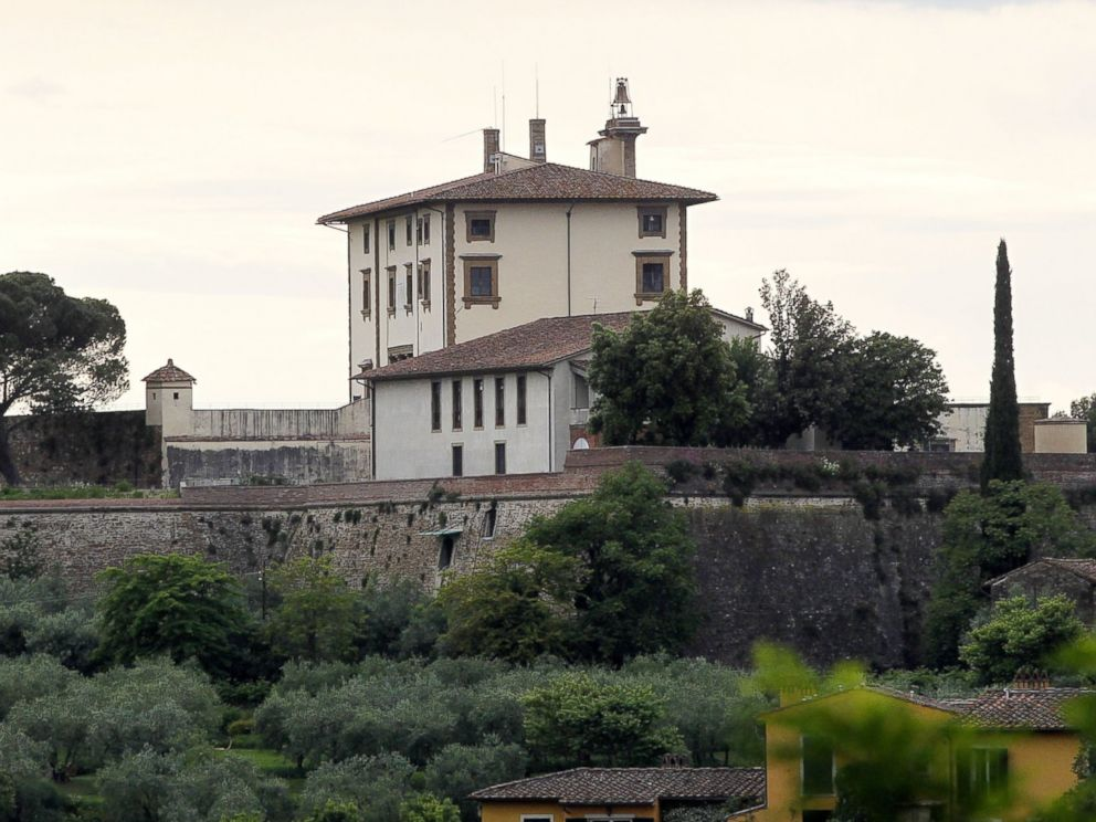 PHOTO: Forte Belvedere is pictured in Florence, Italy on May 16, 2014.