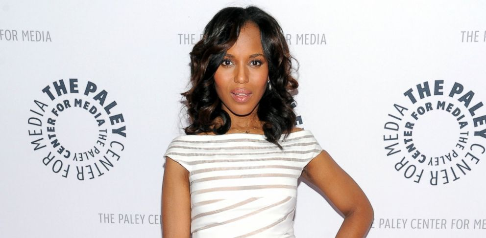 """PHOTO: Actress Kerry Washington attends the """"Shes Making Media: Kerry Washington"""" panel discussion about her career at The Paley Center for Media on Wednesday, Oct. 2, 2013 in New York."""