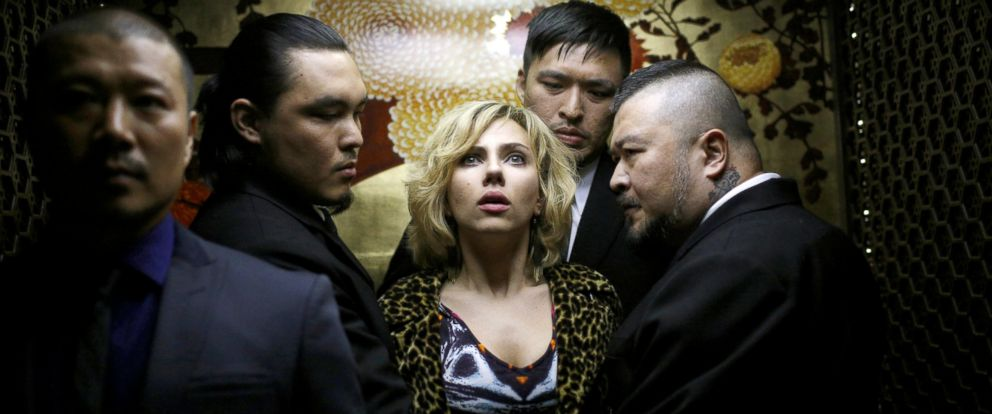 movie review lucy starring scarlett johansson and morgan freeman