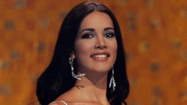 PHOTO: In this May 31, 2005 file photo, Monica Spear, Miss Venezuela 2005, competes at the Miss Universe competition in Bangkok, Thailand.