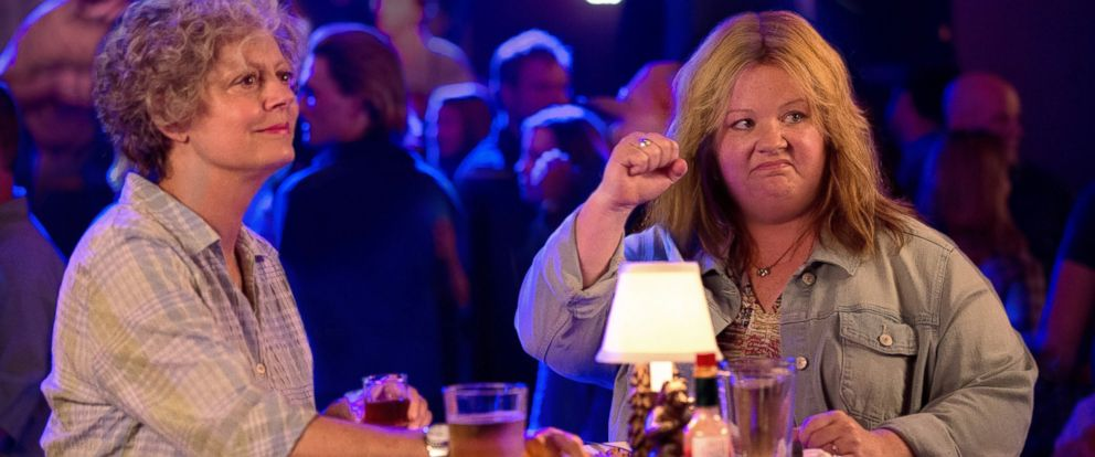 """PHOTO: Susan Sarandon, left, and Melissa McCarthy in a scene from """"Tammy."""""""